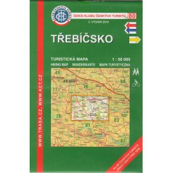 Třebíčsko - turistická mapa