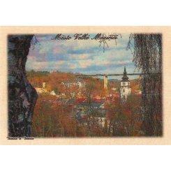 Dřevěná pohlednice Město Velké Meziříčí č. 163
